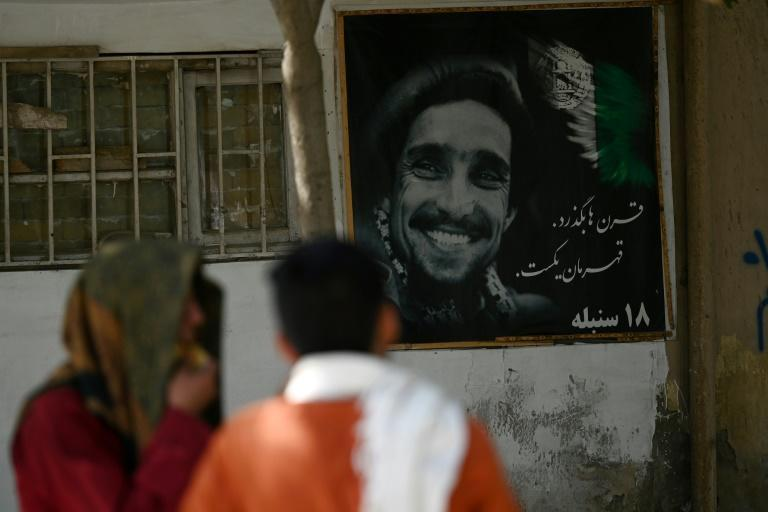 Massoud is a powerful symbol of resistance for many Afghans (AFP/Aamir QURESHI)
