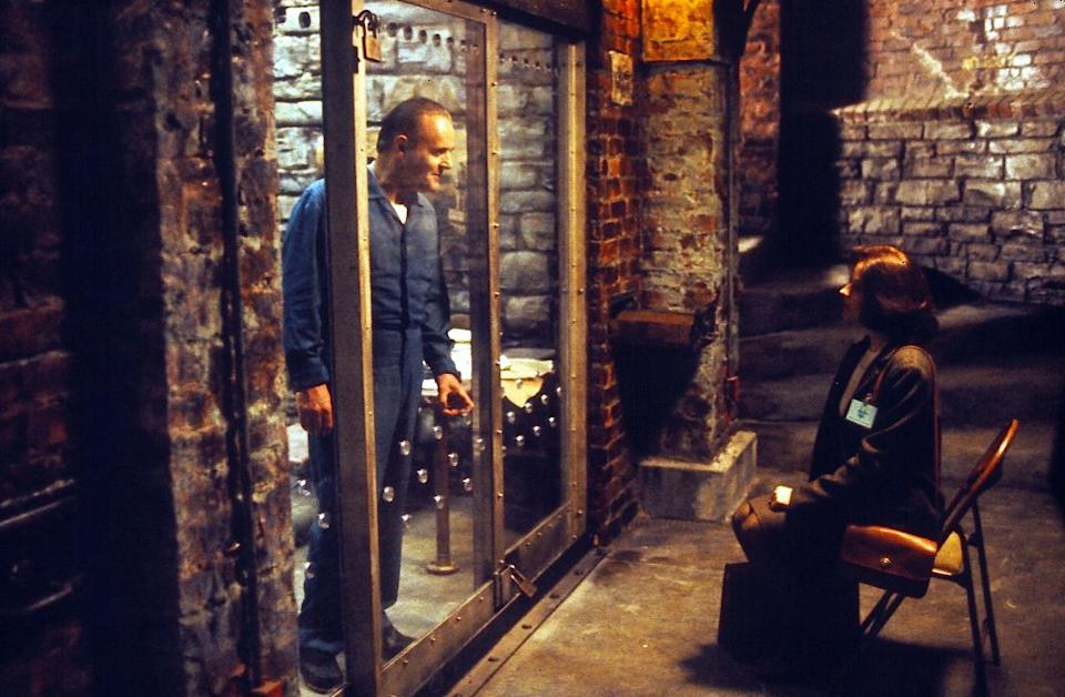 Anthony Hopkins Jodie Fister Silence of the Lambs