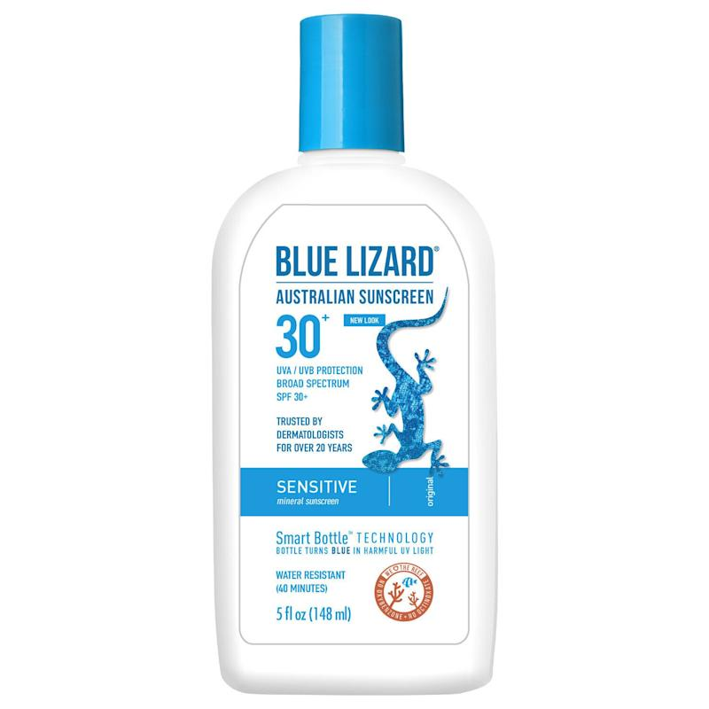 Blue Lizard Australian Sunscreen Sensitive SPF 30 (Photo: Blue Lizard)