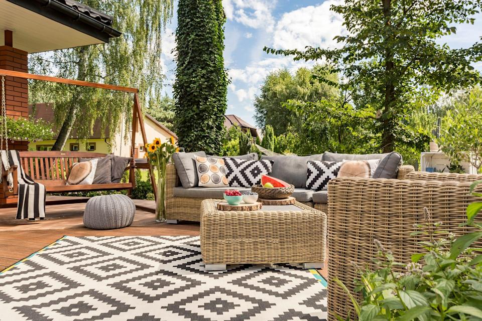 Grab a wide variety of patio furniture from Macy's at big discounts right now.