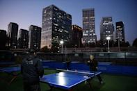 Anyone can play without booking at the public tables, but they must bring their own bats and balls