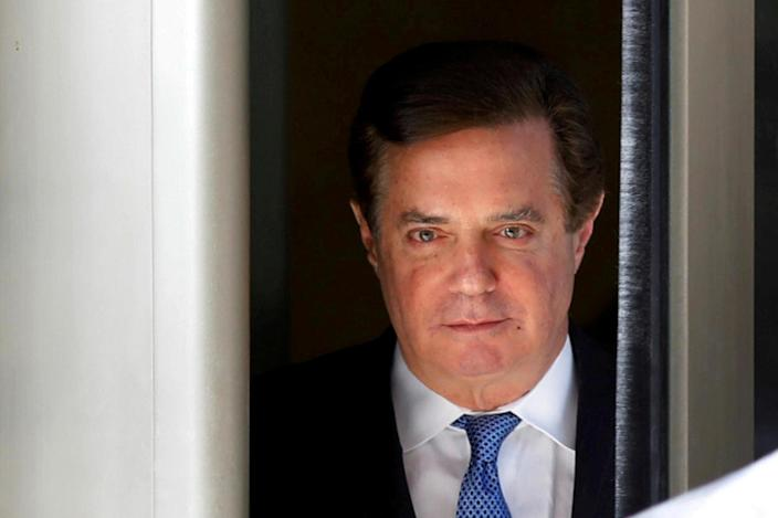 <p>Paul Manafort was the first former Trump aide to face trial as a result of the Mueller probe</p> (Reuters)