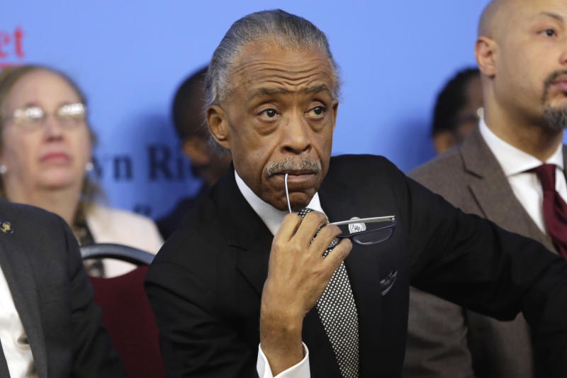 Police Shooting in Home-Sharpton