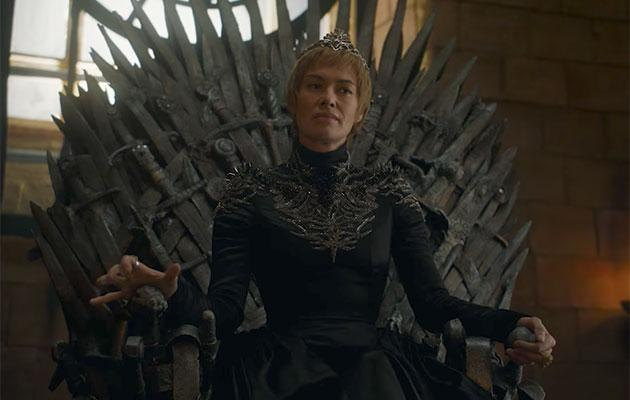 Cersei kicks things off by having a whinge about how tough life is. Source: HBO