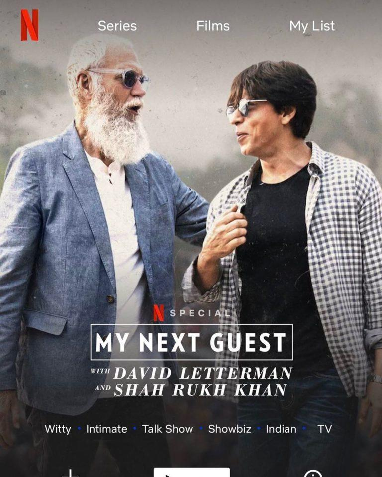Shahrukh Khan to appear on ANOTHER Hollywood talk show?
