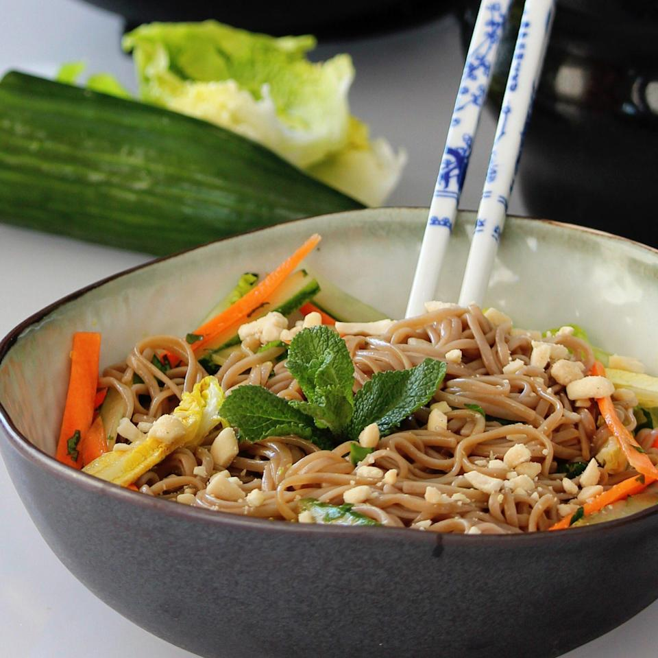 """<p>""""Such a light, crisp salad, especially on summer evenings! Everyone loves these noodle bowls and makes it a point to join us for dinner if they know it's being served. Increase or omit ingredients to suit your palate."""" —LEXI821</p>"""