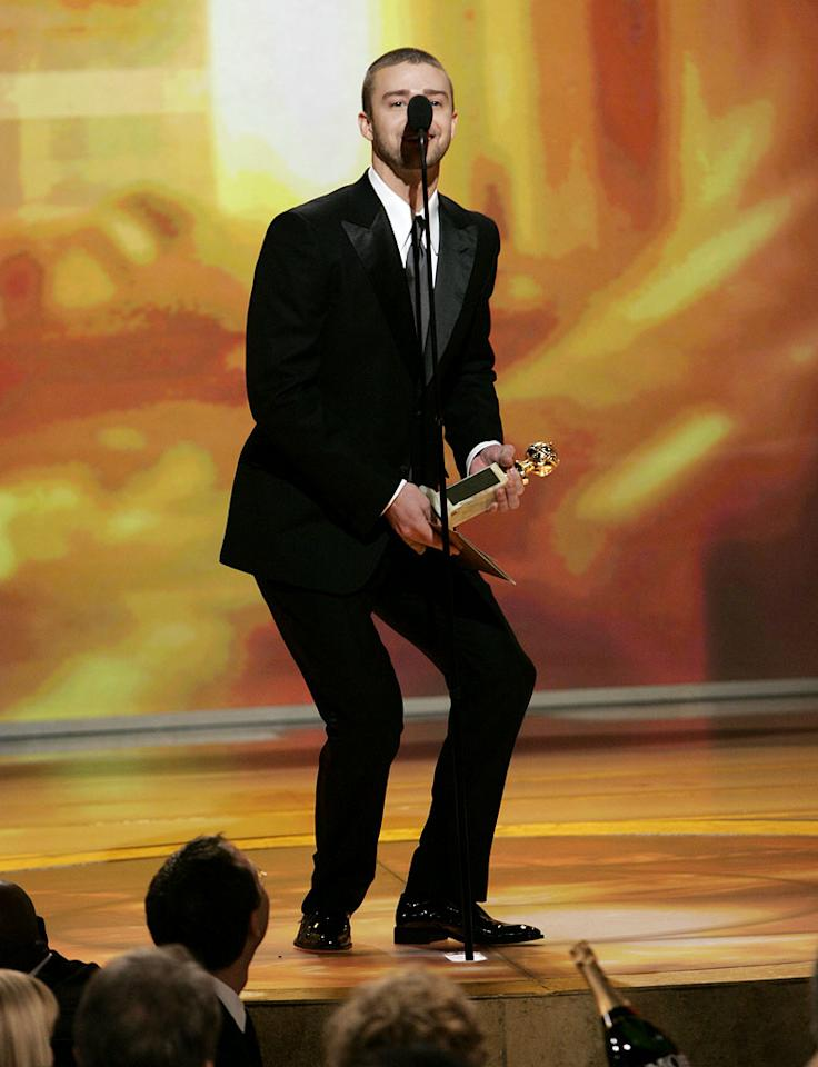 "<a href=""/justin-timberlake/contributor/53785"">Justin Timberlake</a> takes a swipe at Prince's stature at <a href=""/the-64th-annual-golden-globe-awards/show/40075"">the 64th annual Golden Globe Awards</a>."