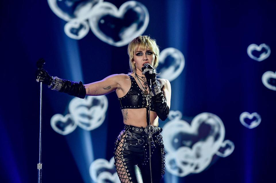 "<p>Back in 2015, Miley <a href=""https://www.elle.com/uk/life-and-culture/news/a27013/miley-cyrus-elle-uk-october-2015/"" rel=""nofollow noopener"" target=""_blank"" data-ylk=""slk:told ELLE U.K."" class=""link rapid-noclick-resp"">told <em>ELLE</em> U.K.</a>, ""I'm very open about it – I'm pansexual. But I'm not in a relationship. I'm 22, I'm going on dates, but I change my style every two weeks, let alone who I'm with.""</p><p>In her 2019 <a href=""https://www.vanityfair.com/style/2019/02/miley-cyrus-cover-story"" rel=""nofollow noopener"" target=""_blank"" data-ylk=""slk:Vanity Fair cover story"" class=""link rapid-noclick-resp""><em>Vanity Fair</em> cover story</a>, she said, ""What I preach is: People fall in love with people, not gender, not looks, not whatever. What I'm in love with exists on almost a spiritual level. It has nothing to do with sexuality...""</p>"