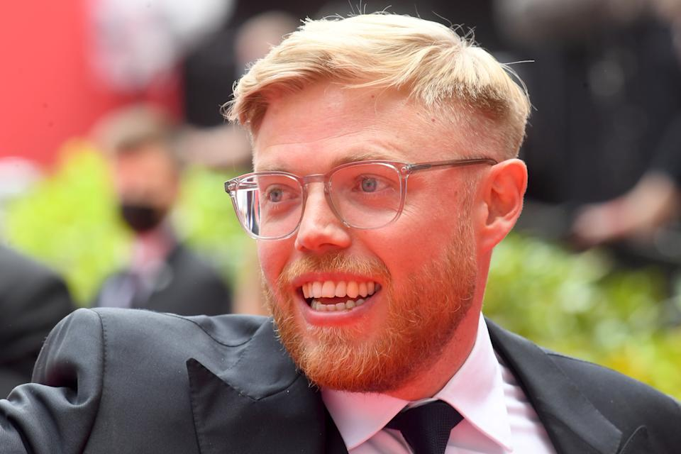 LONDON, ENGLAND - JUNE 06: Rob Beckett attends the Virgin Media British Academy Television Awards 2021 at Television Centre on June 06, 2021 in London, England. (Photo by Dave J Hogan/Getty Images)