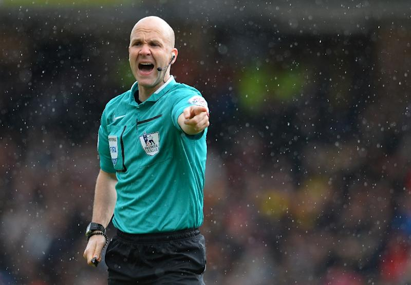 The fact that Referee Anthony Taylor is based in Manchester has led to complaints about the official's objectivity ahead of Manchester United's clash with Liverpool at Anfield (AFP Photo/Glyn Kirk)