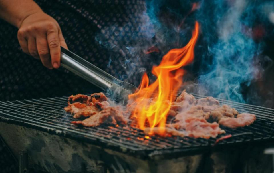 Hand sanitizer and barbecues are a dangerous combination
