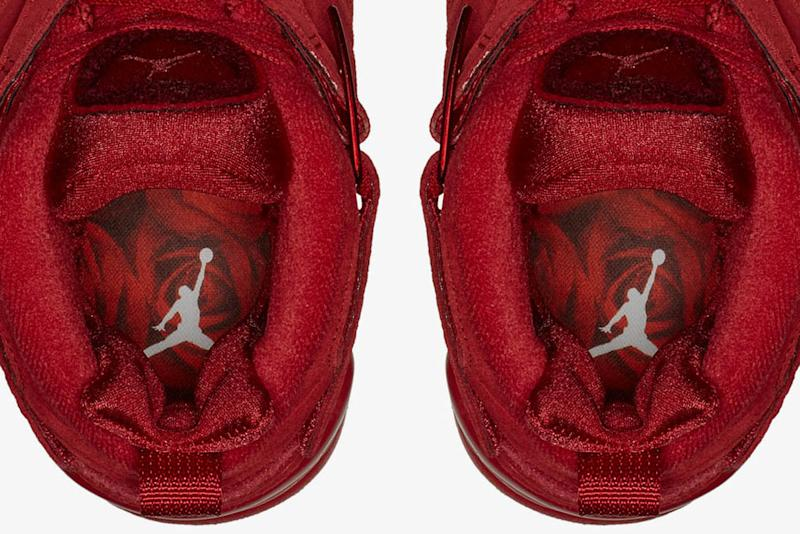 8e6fa508ae0784 These Valentine s Day Air Jordan Shoes Have  More Red Than a Bouquet of  Roses