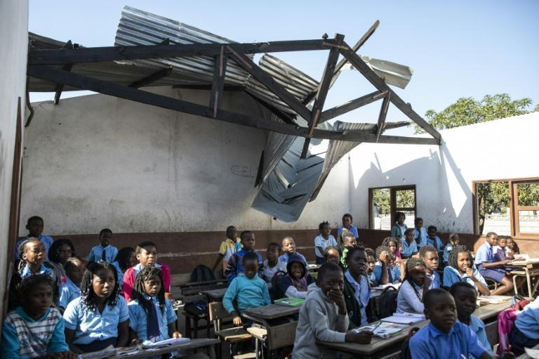 Many schools were damaged in the March cyclone