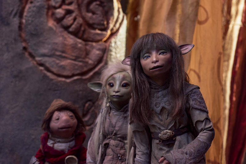 The Gelfling heroes of the prequel series 'The Dark Crystal: Age of Resistance' (Photo: Kevin Baker/Netflix)