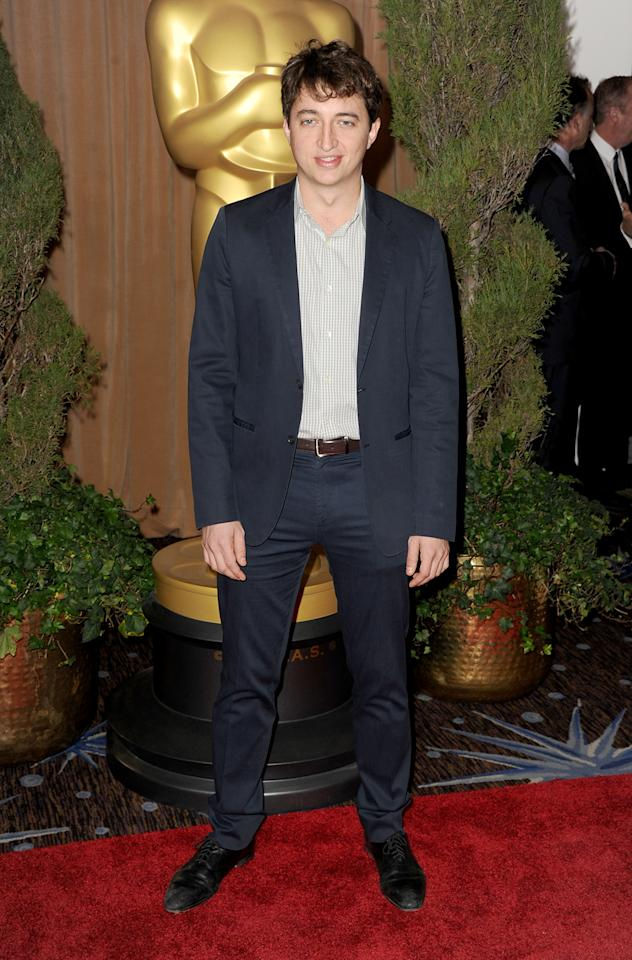 Director Benh Zeitlin attends the 85th Academy Awards Nominations Luncheon at The Beverly Hilton Hotel on February 4, 2013 in Beverly Hills, California.  (Photo by Kevin Winter/Getty Images)