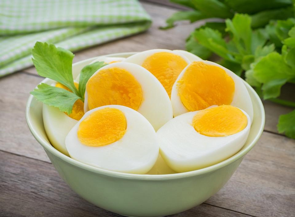 Many of us tend to order egg whites to cut back on cholesterol, but remember, it's the yellow yolk that has the iodine