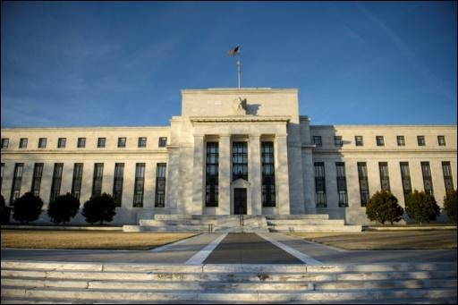 Der Sitz der Federal Reserve in Washington