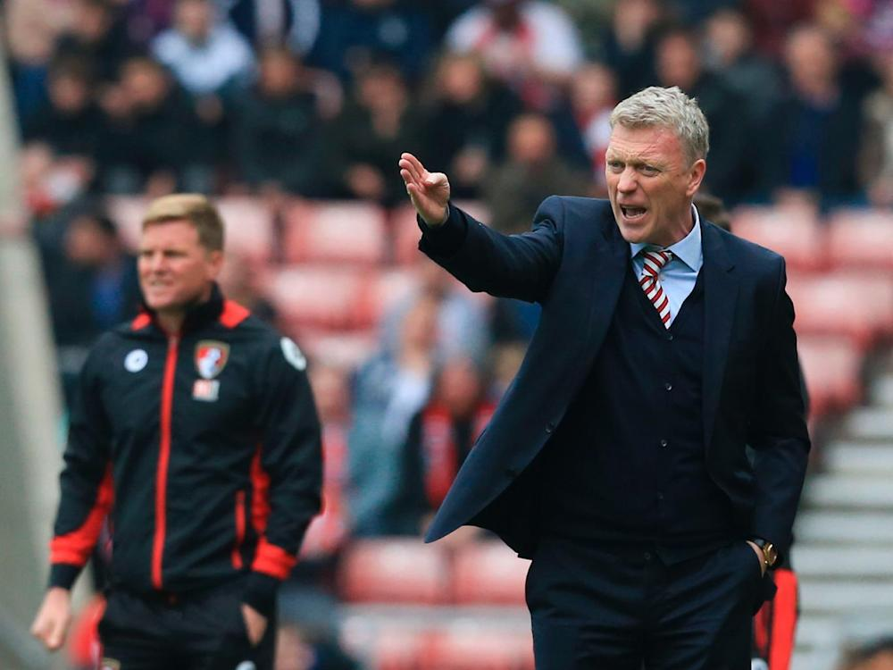 Moyes' future is now in doubt (Getty)