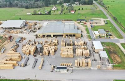 Bay Wood Products' 20-acre facility is located in Robertsdale, AL.