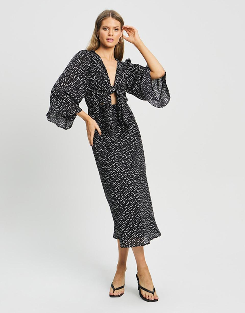 Savel Bettie Midi Dress, $119.95 from The Iconic