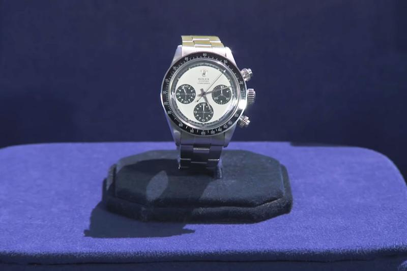 A rare Rolex Oyster Cosmograph watch