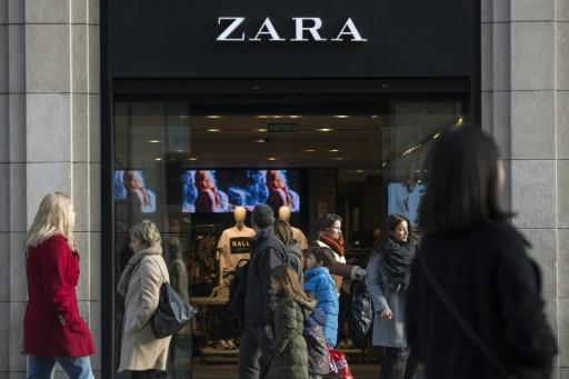 Zara owner Inditex profits up on global drive