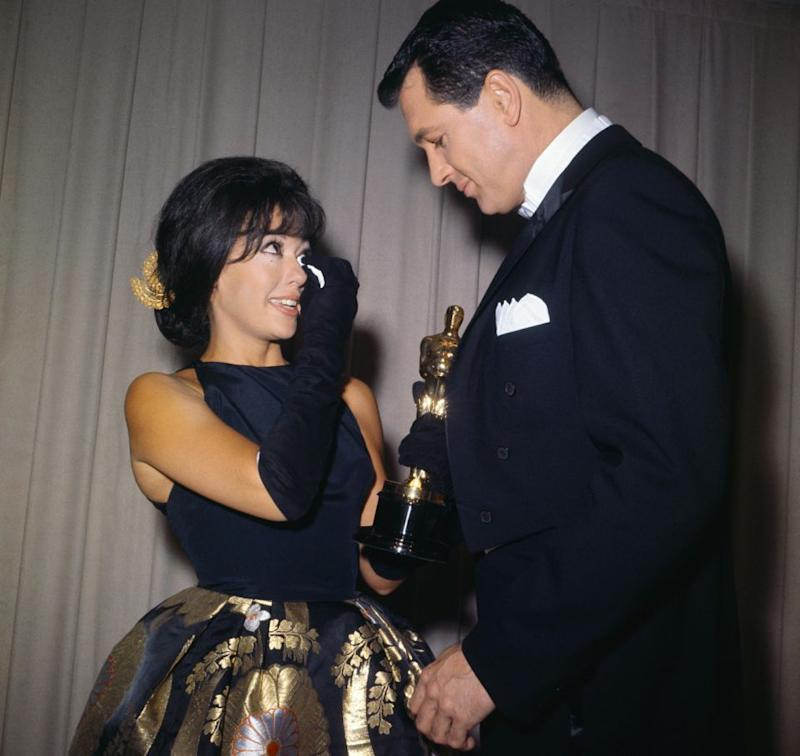 Rita has worn the gown to the Academy Awards before, all the way back in 1962 when she won her Oscar for Best Supporting Actress. Source: Getty
