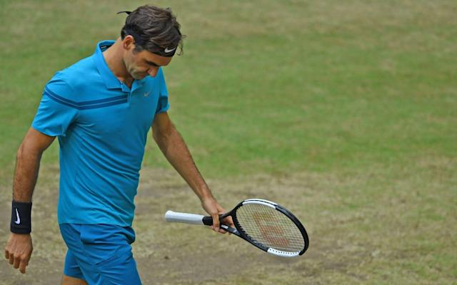 "The script for Roger Federer's ­summer looked so neat. Win a 98th career title in Stuttgart, a 99th in Halle and then raise his bat at ­Wimbledon, on the Centre Court stage that he has turned into his own front room. But not even Federer can control all the controllables. In Sunday's Halle final, he looked to run out of puff against Borna Coric, a 21-year-old percentage player who had never been seen as a likely grass-court champion until this week. Federer came back from a slow start to snatch the second set, but he has had a busy schedule over the past couple of weeks, having played nine matches in the space of 12 days. He faded down the stretch as Coric closed out a 7-6, 3-6, 6-2 ­victory in 2hr 6min. ""I'm definitely going to leave with my head high, thinking it's been a good run in Stuttgart and Halle,"" said Federer. ""Borna did a good job, he was better in the important moments and extremely consistent. He deserved to win. This week I will ­enjoy a bit of free time. The year has been perfect so far and I hope that will continue at Wimbledon."" This was Federer's first defeat on this surface since he lost to Tommy Haas in his opening match of the 2017 grass-court season. It means that he will once again exchange places with Rafael Nadal on the rankings ladder this week, dropping down to No 2. Because of the surface-specific seedings formula employed by Wimbledon, however, he will retain his rightful position as the No 1 seed. Ranking Roger Federer's 20 grand slam titles Federer's defeat gave rise to a lengthy list of might-have-beens. He did not, after all, win a 10th title in Halle. He also remains two ­individual wins behind Jimmy ­Connors's all-time record of 174 on grass, although that discrepancy will presumably be addressed at Wimbledon in a week's time. With a week's rest from competitive matches, Federer should be able to prepare his 36-year-old body for another tilt at his favourite title. He remains the deserved ­favourite to extend his own record by lifting a ninth Wimbledon crown, but he will need to be ­ruthless in the early stages if he wants to conserve energy for the second weekend. The 20 greatest tennis players of Open era While Federer and Novak Djokovic both finished as runners-up ­on Sunday, Andy Murray was in Eastbourne preparing for the Nature Valley International, only his second tournament since last year's Wimbledon. Murray – who lost a demanding comeback match to Nick Kyrgios on Tuesday at the Fever-Tree Championships – is on the schedule on Monday to face another major champion in Stan Wawrinka. It is amazing to think that Murray and Wawrinka, now ranked No 156 and No 261 in the world ­respectively, stood at No 1 and No 3 during last year's grass-court ­season. There is still some uncertainty over Murray's participation at Wimbledon, which he suggested last week was far from a done deal. But a smooth run-out this afternoon – in a match scheduled ""not before 4pm"" – should quell any remaining doubts."