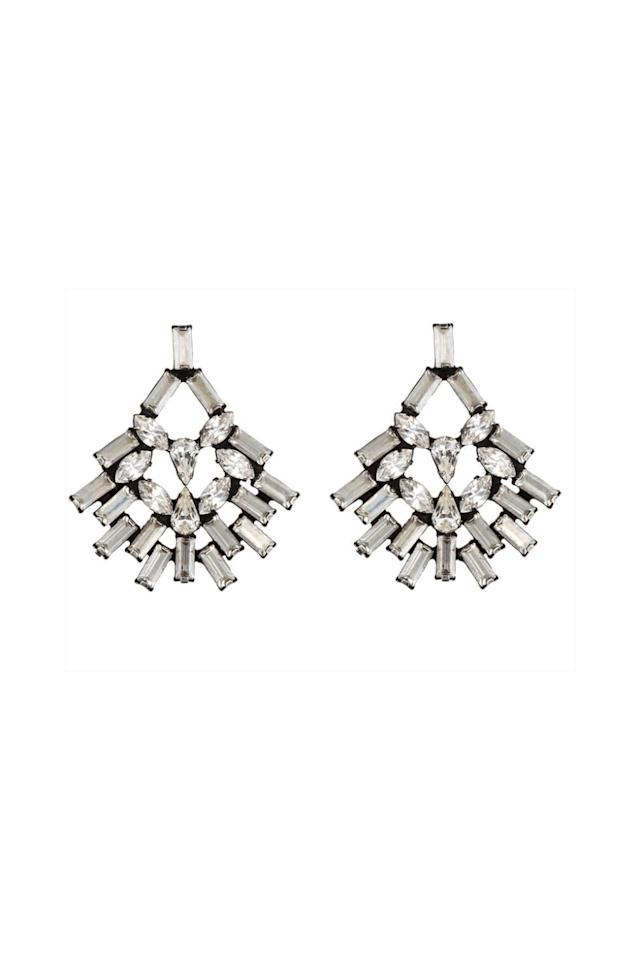 "<p>Fancy, yes, but can also be worn with your t-shirts and jorts. </p><p><strong>Capelle Earrings, $295; <a rel=""nofollow"" href=""https://dannijo.com/products/capelle?variant=24544202309"">dannijo.com</a>.</strong></p>"
