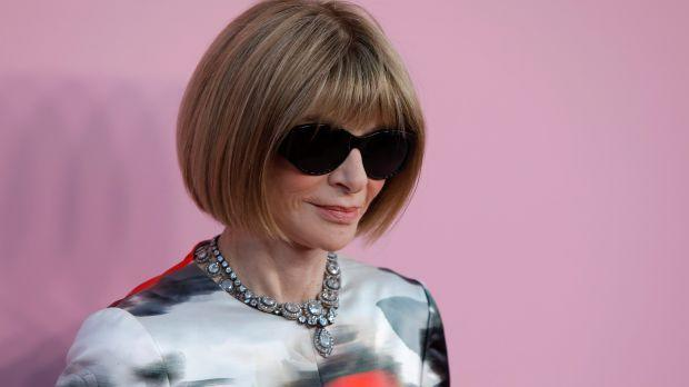 Editor-in-chief of Vogue Anna Wintour arrives for the 2019 CFDA Awards at The Brooklyn Museum in New York, U.S., June 3, 2019
