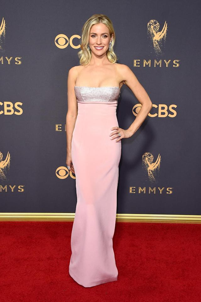 <p>Kristin Cavallari attends the 69th Primetime Emmy Awards on Sept. 17, 2017.<br> (Photo: Getty Images) </p>