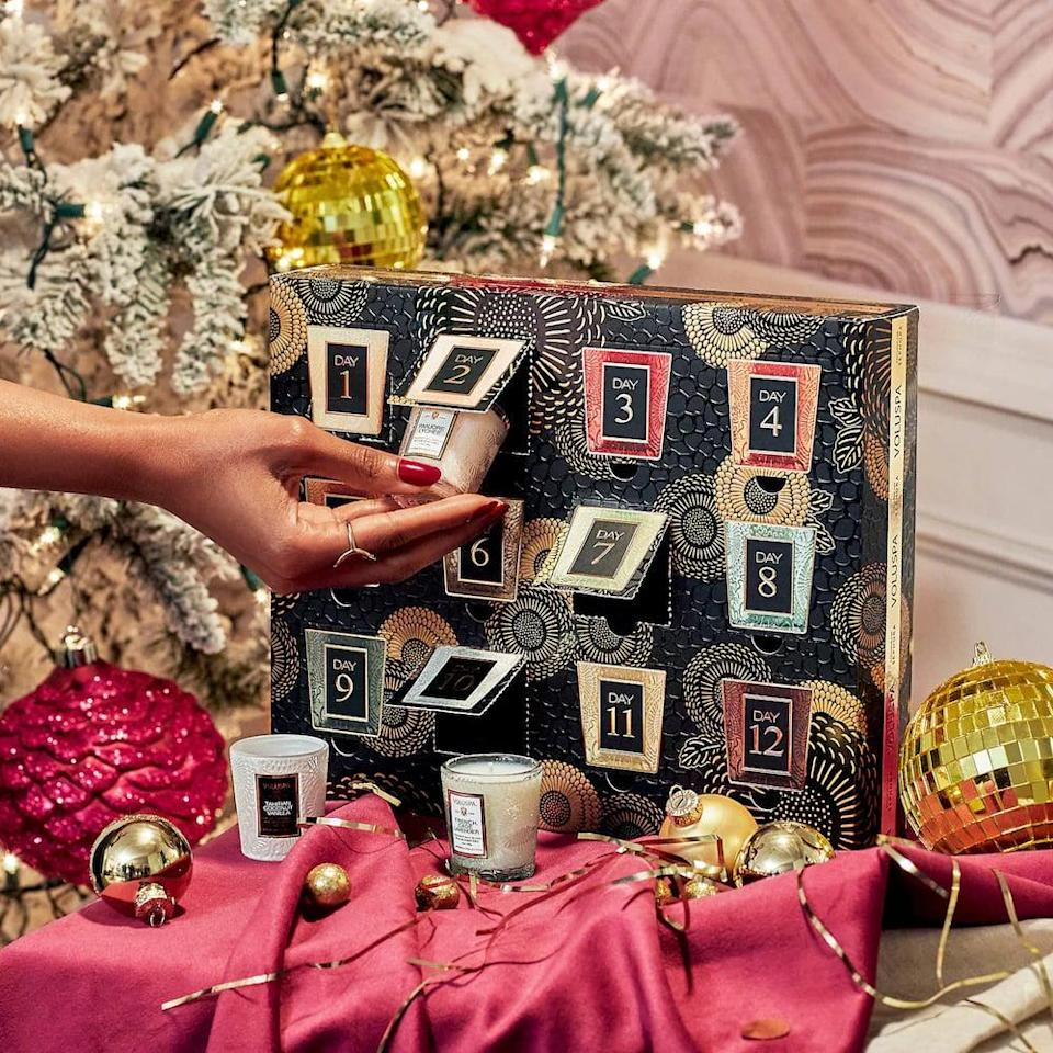 <p>If they love candles, they'll be over the moon to receive this <span>Voluspa Mini Candle Advent Calendar</span> ($75). Every day has a different scent, and we'd like one for ourselves as well, please and thank you.</p>