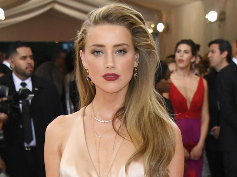 Amber Heard: Getty