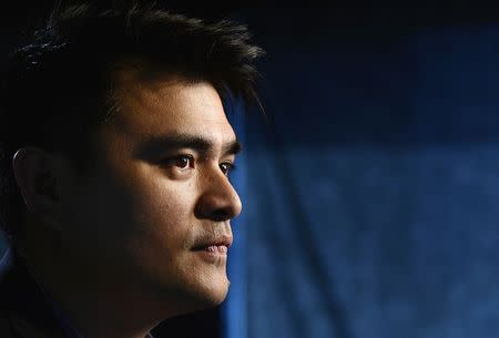 """Journalist and director of film """"Documented"""", Jose Antonio Vargas, poses for a photograph in Los Angeles, Californa June 18, 2014. REUTERS/Kevork Djansezian"""