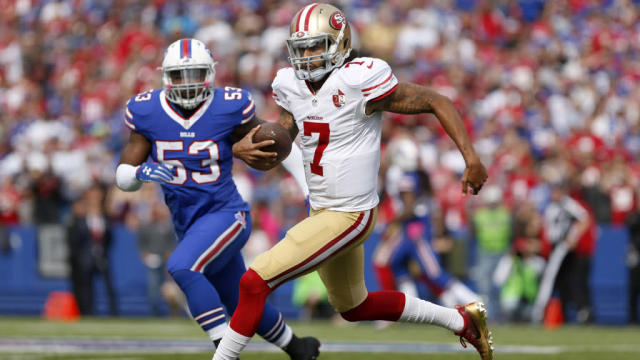 Bills given fourth-highest odds to sign Colin Kaepernick