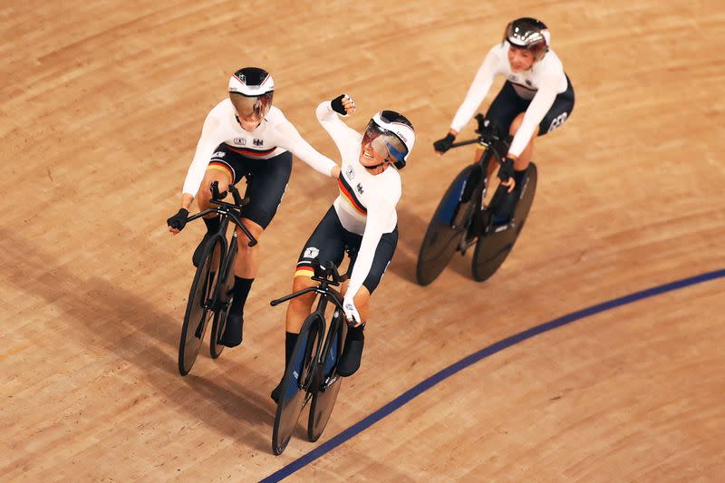 Cycling - Track - Women's Team Pursuit - Gold Final