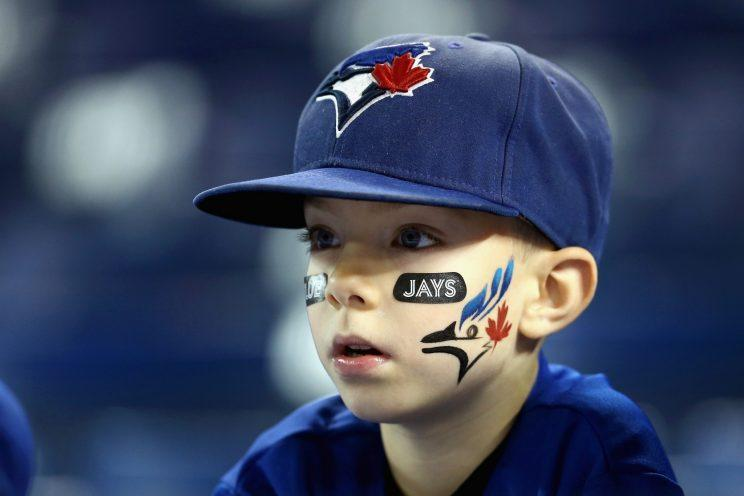 The kids are loving the Blue Jays these days. (Getty Images)