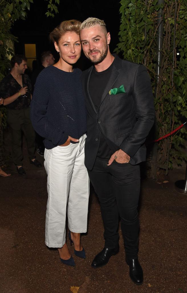 Emma Willis and her husband Matt Willis, pictured in August 2018. (Getty Images)