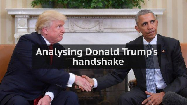 Analysing Donald Trump's handshake