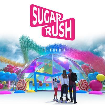 Sugar Rush -- a safe, candy-fueled, open-air, walk-through family adventure -- will be open April 2 - May 2, 2021 in Woodland Hills, CA.