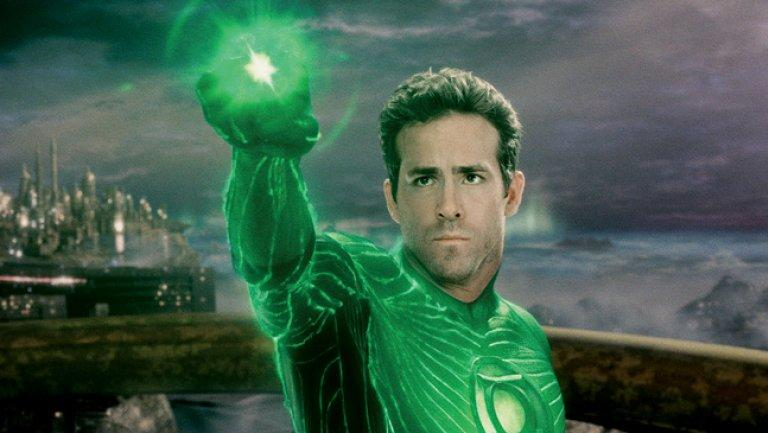 Ryan Reynolds, the first and to date only big screen Green Lantern (credit: Warner Bros)
