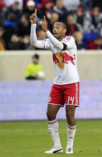 Henry scores 3 as Red Bulls beat Impact