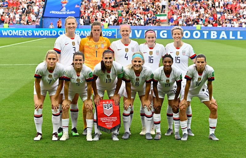 The USWNT have the highest selling jersey in Nike's history. (Photo by Mustafa Yalcin/Anadolu Agency/Getty Images)