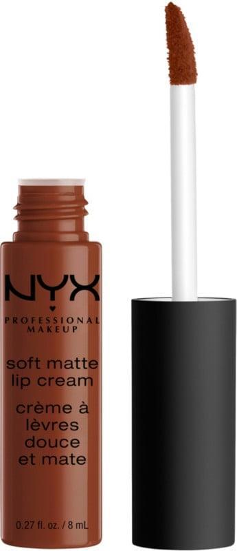 <p>If you love matte lips but don't like dryness, the <span>NYX Professional Makeup Soft Matte Lip Cream</span> ($7) is the perfect lip cream!</p>