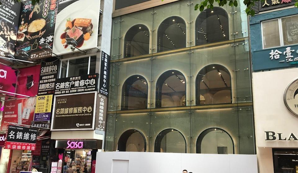 Causeway Bay's Russell Street, dubbed the world's most expensive shopping row last year in a survey by Cushman and Wakefield, has seen the departure of several luxury brands. Photo: Handout
