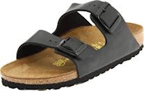 <p>While there are many different colors and styles of <span>Birkenstock Sandals</span> ($90-$200), they are super-comfortable, which makes them ideal for all-day wear. They'll happily swap heels for these.</p>