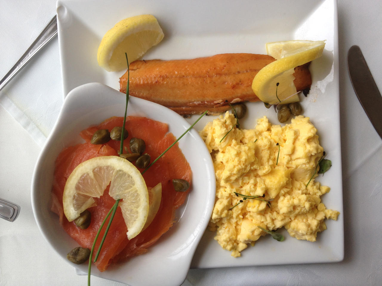 <p>Up 22.9%: Shoppers will have noticed the price of salmon has been rising steadily throughout the year, with industry experts saying it's a simple case of demand outstripping supplies hit by an infestation of lice among stocks. Smoked salmon for Christmas Day breakfast is likely to cost almost 23% more this year, says analyst Kantar. (Education Images/UIG via Getty Images) </p>