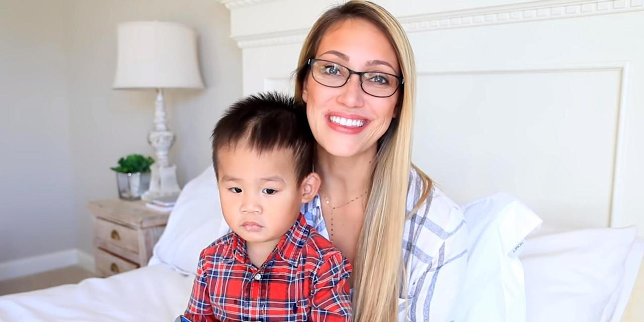 Myka Stauffer says she was 'foolish' to adopt after placing son with new family