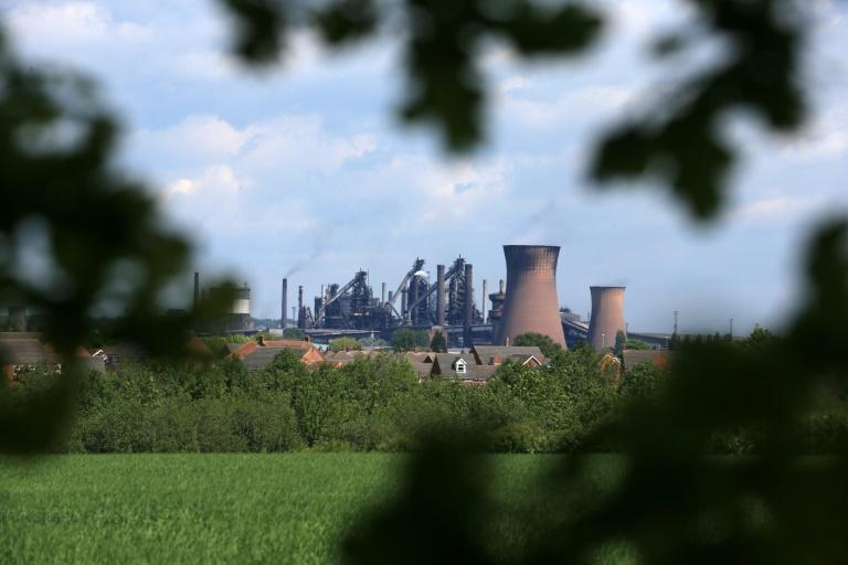 The British steel industry has a special place in British hearts (AFP Photo/Lindsey Parnaby)