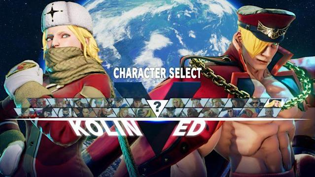 Updated look at Street Fighter V's character select screen (Capcom)